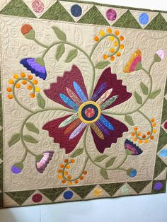 The featured quilter this month at Quiltworks is Phyllis Van Etten.