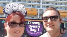 Disney Dream Boarding Day   Florida Vlogs 2018 Part 2 Travel Videos, Disney Dream, Disney Cruise, Hotel Reviews, Us Travel, Mens Sunglasses, Florida, Tours, Adventure