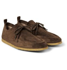Burberry Prorsum - Suede Derby Shoes | MR PORTER