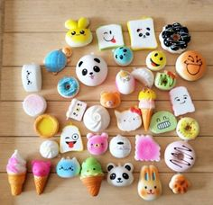 Random-Mini-20Pcs-Jumbo-Squishy-Panda-Bread-Cake-Buns-Straps-slow-rising