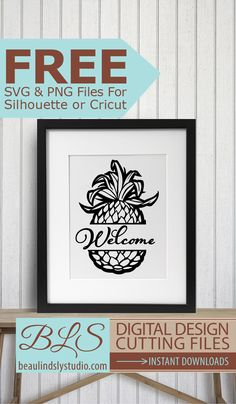 Free Split Monogram Pineapple: Free SVG File For Silhouette, Free SVG File For Cricut & other cutting machines. Also a Png Image File (great for a free printable) The design may be used commercially, but the files may not be sold, given away, re-bundled or distributed in any way. Click visit to download the file. By: www.beaulindslystudio.com