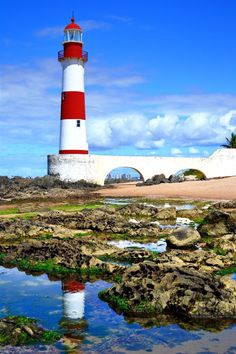 Farol de Itapua(Salvador de Bahia)