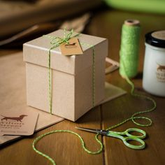 Artful packaging, a kraft brown luxury box with recycled tissue paper and twine, makes the candle ready for gifting. Packaging is made from recycled paper, and packaging and jar are recyclable or can be repurposed. Vegan Candles, Mollie Makes, Earl Grey Tea, Tissue Paper, Scented Candles, Twine, Repurposed, Wax, Recycling