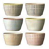 Retro style, vintage soup bowls by Bloomingville. Find it at http://www.attic-lifestyle.com