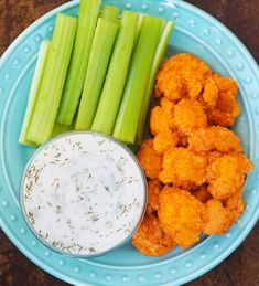 These spicy, crispy baked buffalo cauliflower wings are such a great healthy game day appetizer or snack, whether you care about the actual football game or not!