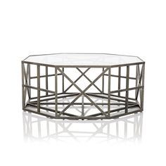 French Symmetry Hexagonal Side Table - Max Sparrow specialises in luxurious & modern furniture for the home. Browse & buy online now. Table Furniture, Living Room Furniture, Modern Furniture, Hexagon Coffee Table, Coffee Tables, Scandinavian Furniture, Interior Design Inspiration, Home And Living, Interior Architecture