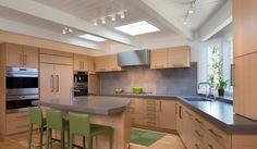 3 modelos de cozinha com ilhas generosas - KzaBlog