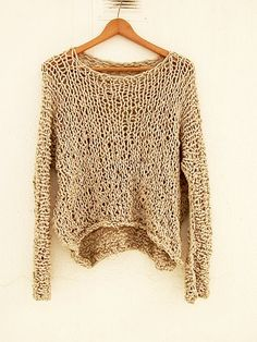 Special promotion sales .Sweater. Loose by armarioenruinas on Etsy