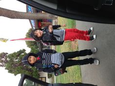 I loveeee dropping my sons off at school <3