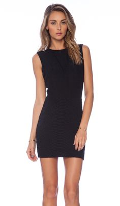 Shop for NBD x Naven Twins Vanish Bodycon Dress in Black at REVOLVE. Free day shipping and returns, 30 day price match guarantee. Dance Outfits, Dress Outfits, Skeleton Dress, Formal Cocktail Dress, Cutout Dress, Color Negra, Revolve Clothing, Ladies Dress Design, Tank Dress