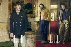 Dunhill Spring/Summer 2015 Advertising Campaign | FashionBeans.com