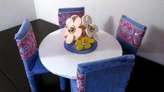 Como Fazer Mesa e Cadeiras para Barbie e Outras Bonecas