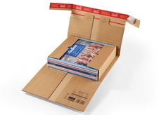 etui d expedition Cannelure B 371 l x 272 P x 102 H mm Kraft par Office Depot Office Depot, Custom Mailer Boxes, Ecommerce, Recycling, Software, Cardboard Packaging, Packing Boxes, Cool Books, Wrap Around