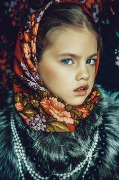 The work of the photographer from Nizhny Novgorod Julia Zudilinа Prime Rose, Russian Fashion, Russian Style, Look Into My Eyes, Baby Models, Asia Girl, Central Asia, Silk Scarves, Beautiful Children