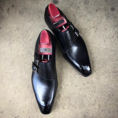 "The ""Oakham"" in black calf skin. Made to Order on... - Gaziano & Girling - Bespoke & Benchmade Footwear"