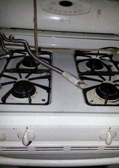 Gas Stove/Range Maytag in claudetteharr's Garage Sale in Michigan City , IN for $75. Gas Stove/Range Maytag. This stove was working before the house had a fire. Just needs a little cleaning up. We will give you 7 days to be sure it works, and if it doesn't, we will give you your money back when you bring the stove back.