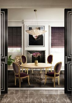 How-to-Use-Black-Color-to-Create-an-Incredible-Dining-Room7 How-to-Use-Black-Color-to-Create-an-Incredible-Dining-Room7