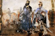 Breitner George Hendrik Huzars Sun « Breitner George Hendrik « Artists « Art might - just art