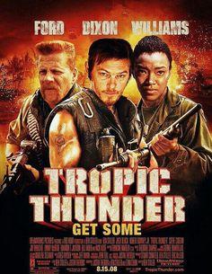 TROPIC THUNDER MOVIE SPOOF! - Remembering Abraham and Sasha!