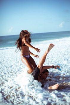 playful love! [ Waterbabiesbikini.com ] #summer #bikini #elegance