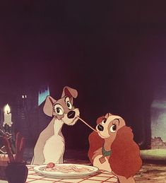 Lady and the Tramp.....one of my favorite Disney's along with The Aristocats and…