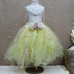Enchanted Flower Fairy Tutu Set by ElenaCollectionUSA