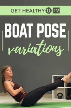 Boat pose is a great ab exercise that tests your balance and helps you build core strength at the same time. In addition, this pose helps strengthen y Ultimate Ab Workout, Ab Workout At Home, Fat Workout, Core Exercises For Beginners, Yoga For Beginners, Ab Exercises, Stretches, Workouts, Boat Pose