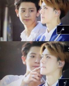 #exo #chanyeol #sehun #chanhun #parkchanyeol #ohsehun #chanhunhardshipper