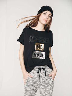 Fashion Wear, Girl Fashion, Fashion Outfits, Casual Wear, Casual Outfits, Cute Outfits, Girls Tees, Shirts For Girls, Creative T Shirt Design