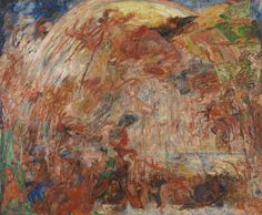 James Ensor, The Fall of the Rebel Angels, 1889.