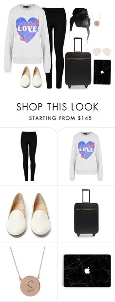 """""""Landing in LA for the Golden Globes (Jan. 13)"""" by designing-myworld ❤ liked on Polyvore featuring Wolford, Love Moschino, Charlotte Olympia, STELLA McCARTNEY and Jennifer Meyer Jewelry"""