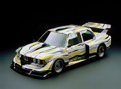 Roy Lichtenstein's BMW from the BMW Art Car Collection