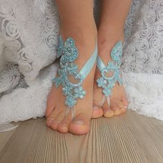 French lace barefoot sandals of good quality Choose your foot number. Ready to ship. Shipment within 24 hours after purchase, weekend 48 hours via post Office. Estimated delivery 15-20 days. customs control may extend this time. purchased with shipping upgrade for immediate delivery,