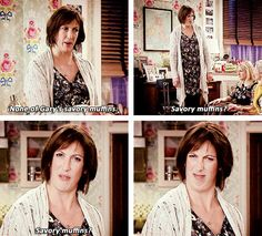 Savoury muffins are straight-up evil. 18 Times Miranda Hart Spoke The Absolute Truth Miranda Tv Show, Miranda Bbc, British Sitcoms, British Comedy, Miranda Hart Quotes, Miranda Hart Funny, Relationship Quotes For Him, Relationships, Humor