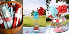 Cute 4th of July party decor ideas - from Under the Sycamore