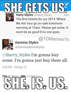 I love Gemma so much, lol! :)