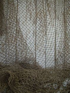 Hey, I found this really awesome Etsy listing at http://www.etsy.com/listing/150176779/old-used-fishing-net-5-ft-x-5-ft-vintage