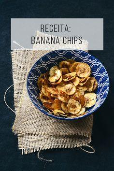 A delícia das delícias: aprenda a fazer chips de banana! // Chips de banana no forno, aprenda a fazer! Receitas vegetarianas, saudáveis e deliciosas! :-) // palavras-chave: receita, passo a passo, ideia, tutorial, gastronomia, cozinha, vegetariano, vegano, banana verde, chips de banana, assado, crocante, saudável, fácil