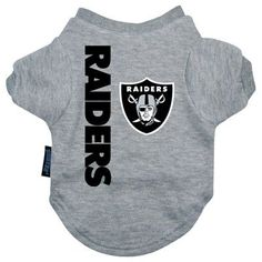 Oakland Raiders NFL Football Shirts for dogs