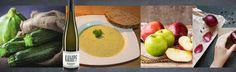 Zucchini-Apfel-Suppe, ein schönes Rezept aus der Kategorie - Weißwein trocken - ein wunderbarer Begleiter ist ein trockener Grauburgunder...