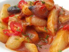 Vegan Recipes, Vegan Food, Fruit Salad, Shrimp, Yummy Food, Stuffed Peppers, Vegetables, Drink, Mariana