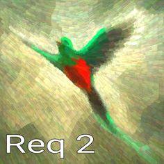 Resplendent Quetzal brush color