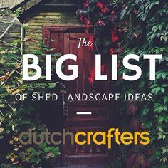 Shed that sticks out like a sore thumb? So 80's (in a bad way). Try some of these tips from our blog at http://ift.tt/1sRBtLj #MondayBlogs #dutchcrafters #amishfurniture #sheshed #tinyhouse #landscaping #greenthumb #makeitpretty #makeitbeautiful #makeitpretty #howcoolisthat #sheds #gardenshed