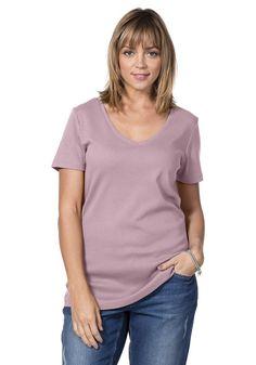 Typ , Shirt, |Material , Baumwolle, |Materialzusammensetzung , 100% Baumwolle, |Ausschnitt , V-Ausschnitt, |Gesamtlänge , Größenenagepasste Länge von ca. 72- 80cm, |Ärmellänge , Kurzarm, | ...