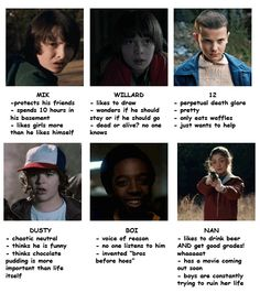 Tag yourself - Stranger Things (Part 1)