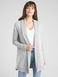 ee1695ccc9 New Cable Stitch Women s Long-Sleeve Rib-Knit Cardigan Sweater with  Thumbhole online.   59.50  newfashionclo Fashion is a popular style