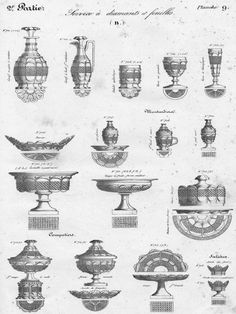 BACCARAT & St LOUIS CRYSTAL CATALOG YEAR 1841 TO DOWNLOAD
