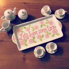 The perfect gift for that special girl! Every little lady needs her very own tea…
