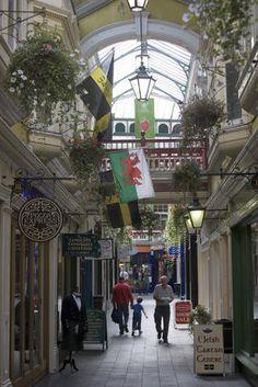 Castle Arcade. Cardiff, Wales.