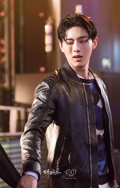 "withjisoo: "" [OFFICIAL] New still of Ji Soo from the drama Doctors "" yaaaas bad boy be mine plz"